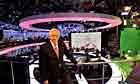 David Dimbleby in the BBC's election night studio