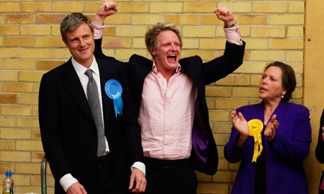 Zac Goldsmith wins Richmond Park seat 7/5/10