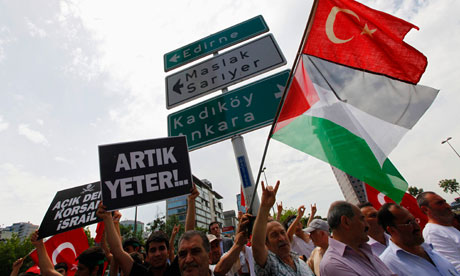 turkey-protest-gaza-flotilla
