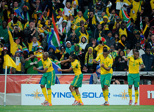 footy match: World Cup 2010 South Africa
