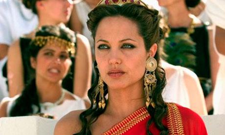 angelina jolie cleopatra movie. Angelina Jolie in Alexander.