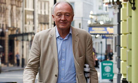 Ken Livingstone for London mayor