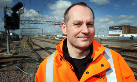 Network Rail boss, Iain Coucher