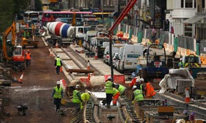 Edinburgh tram project