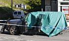 Land Rover vehicle attacked by Derrick Bird