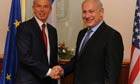Tony Blair and Binyamin Netanyahu