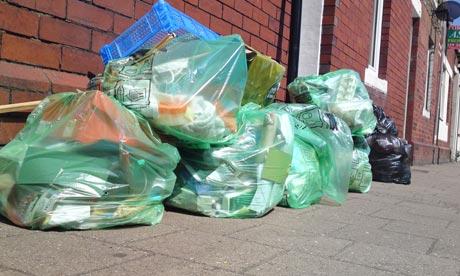 cathays rubbish