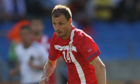 Milan Jovanovic bd Serbia's Milan Jovanovic Added