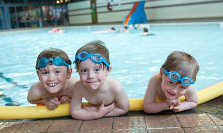 Free swimming cuts swimming pool