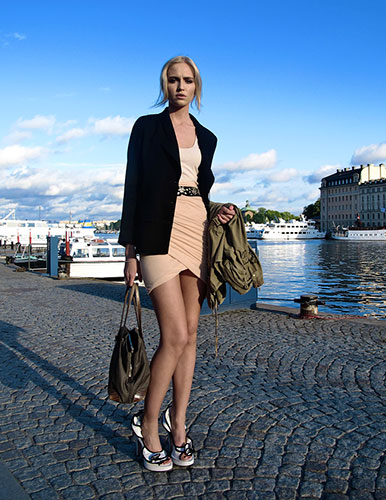 face hunter: Stockholm: Ebba, 22, model/business student, Stockholm