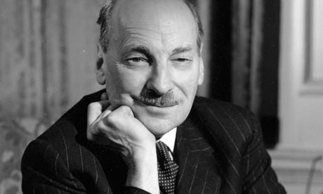 Clement Attlee europe