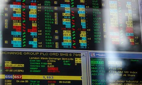 FTSE index stock prices