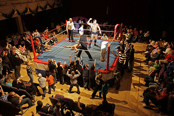 Press Photographer's Year: All Star Wrestling at Birkenhead
