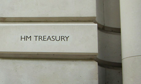 The Treasury in London.