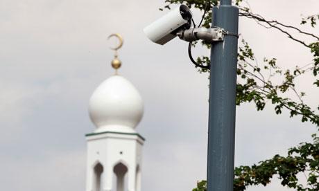 Surveillance camera in Birmingham