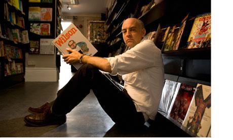 Graphic novelist Daniel Clowes