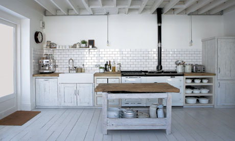 Industrial Inspired Kitchen - Garage Wall Colours