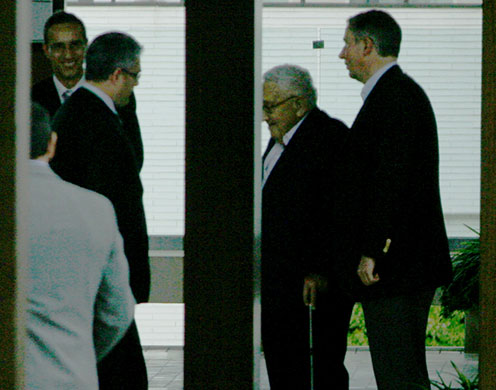 Bilderberg 2010: Photographs Henry Kissinger diplomat  004