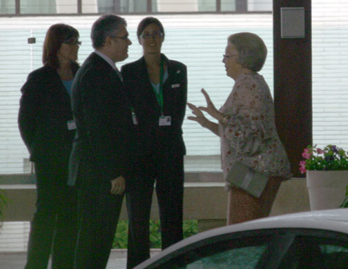 Bilderberg 2010: Photographs Queen Beatrix of the Neth 006