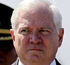 US Secretary of Defense Robert Gates  visits