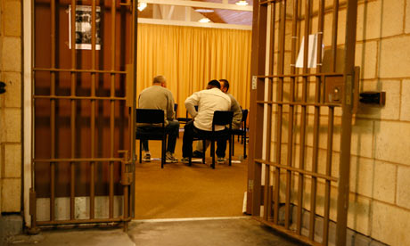 Restorative justice session at
