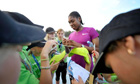 South Africa's Caster Semenya in Finland