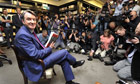 Peter Mandelson book launch