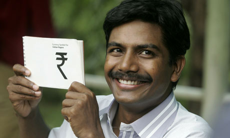 India Unveils New Rupee Symbol