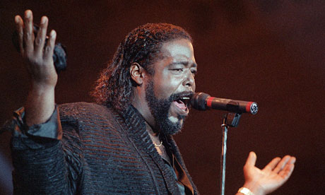 Barry White at the Printemps de Bourges festival