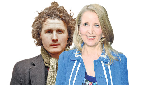 Ben Goldacre and Gillian McKeith.