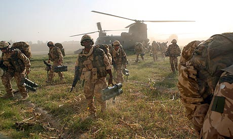 British military operations in Helmand province, Afghanistan