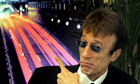 Robin Gibb at ECSA press conference in Brussels