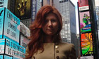 Anna Chapman in New York