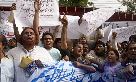 Protests Against the Fake Degree Scandal - AP