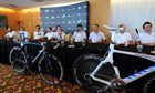 Team Sky ahead of the Tour de France