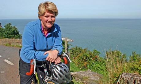 Clare Balding in Britain by Bike