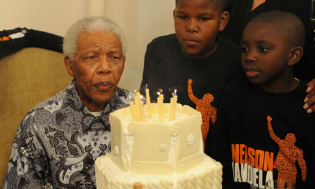 Nelson Mandela 92nd birthday party