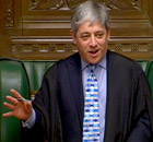 John Bercow, Speaker of House of Commons
