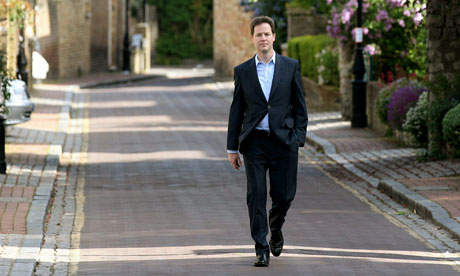 A YouGov poll put Nick Clegg's Lib Dems at just 13%, raising fears for the coalition's future