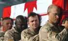 Canadian soldiers in Afghanistan honour dead comrades, including one killed by friendly fire