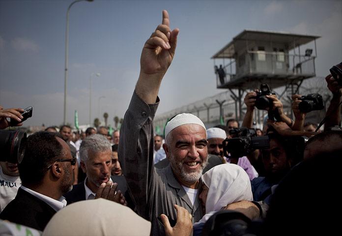 24 hours in pictures: Ramle, Israel: Sheik Raed Salah