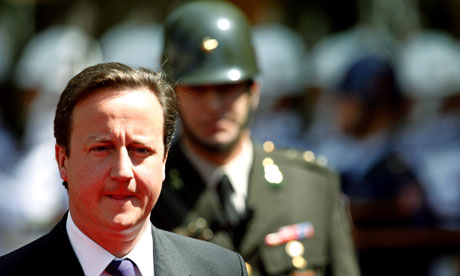 British PM David Cameron in Turkey