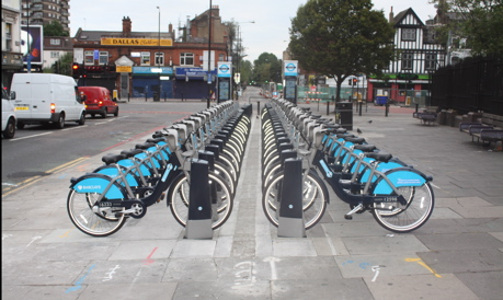 London cycle hire whitechapel