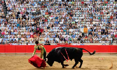 Bullfight in Catalonia