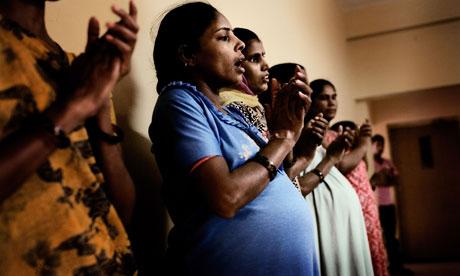 Indian women bearing children of behalf of childless westerners
