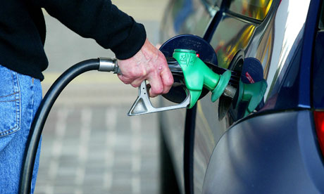 Petrol prices fall