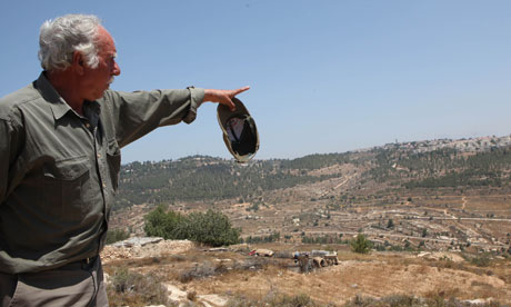 Palestinian farmer Ahmed Bargouth