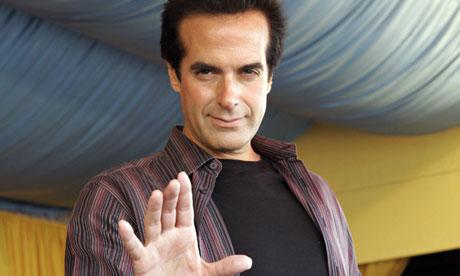 David Copperfield, magician