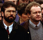 Gerry Adams and Martin McGuinness in 1993.