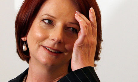 julia gillard hot. Julia Gillard on the campaign